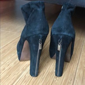 BCBG generation black ankle booties